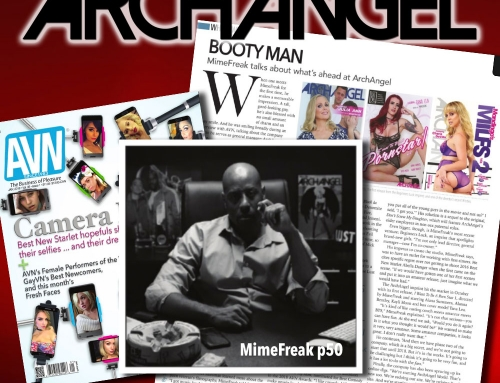 ArchAngel Director MimeFreak Featured In AVN Magazine