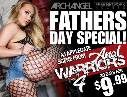 Join The ArchAngel Site for 30 days at $9.99 & Watch A.J. Applegate's Anal Warriors Vol. 4 Scene