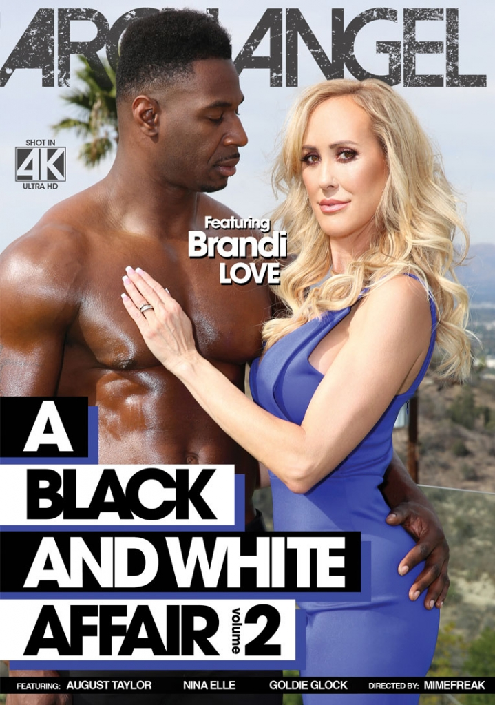 ArchAngel Video Presents Brandi Love in a MimeFreak directed video - A Black And White Affair Vol. 2