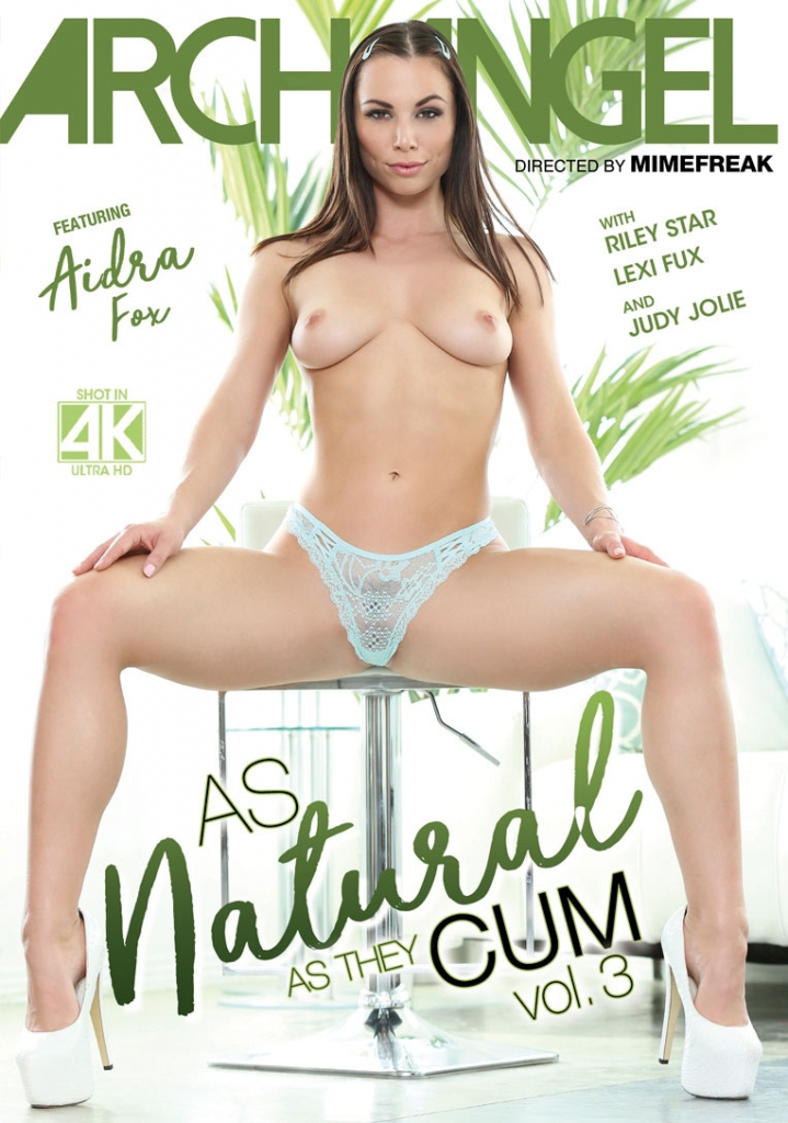 ArchAngel Video, Hardcore, BoxCover, DVD, As Natural As They Cum 3, New Release,